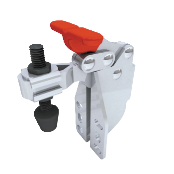 Vertical Toggle Clamp 'T' Handle & Low Profile
