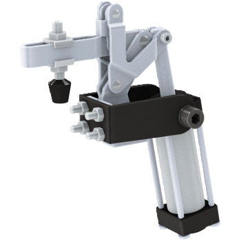Air Powered Side Mounting Toggle Clamps