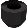 Neoprene Caps for Standard Spindles