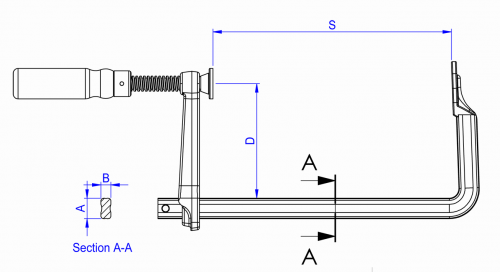 F Clamps